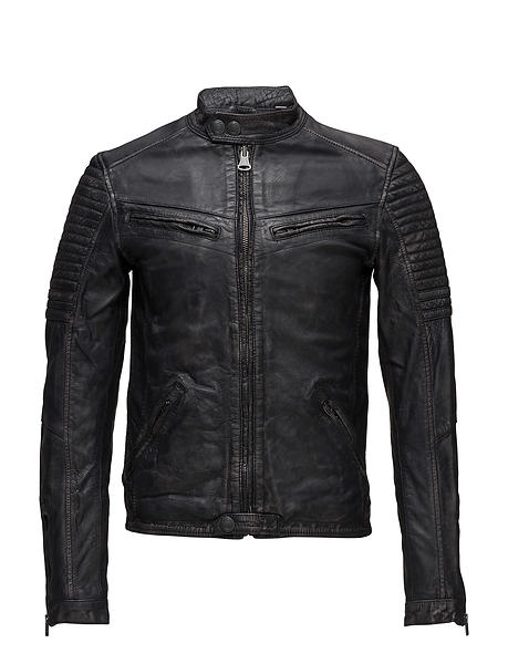 Superdry Endurance Indy Circuit Leather Jacket (Uomo)