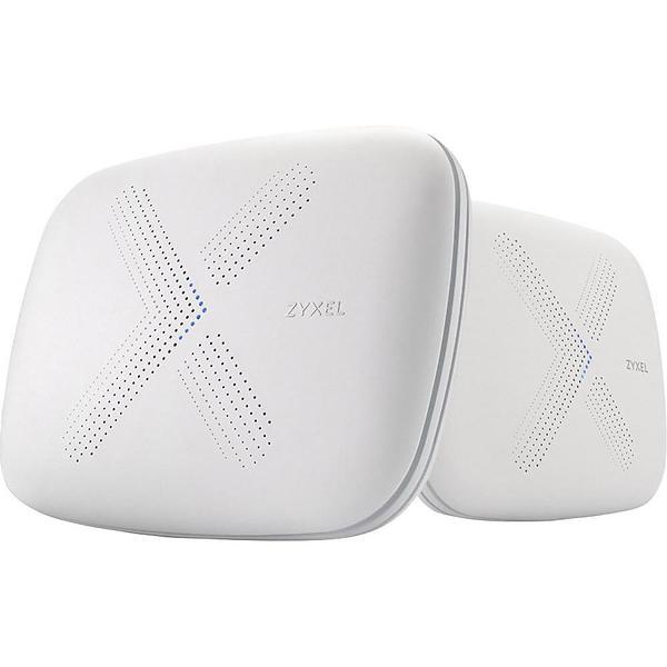 Bild på ZyXEL Multy X WSQ50 AC3000 Tri-Band WiFi System (2-pack) från Prisjakt.nu