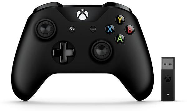 Microsoft Xbox One Wireless Controller V2 + Adapter Windows 10 (PC) (Original)