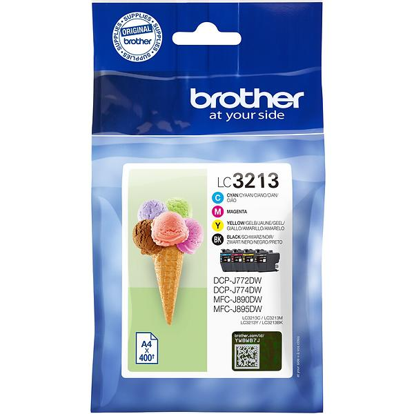 Brother LC3213 (Nero/Cyan/Magenta/Giallo)