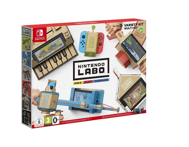 Bild på Nintendo Labo Variety Kit från Prisjakt.nu