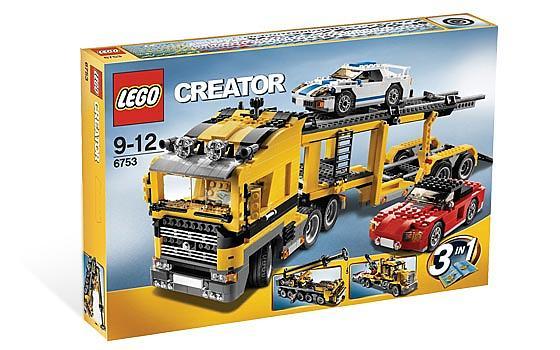lego creator 6753 le transport de voitures au meilleur prix comparez les offres de lego sur. Black Bedroom Furniture Sets. Home Design Ideas