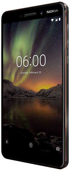 Bild på Nokia 6 (2018) Dual SIM 32GB från Prisjakt.nu