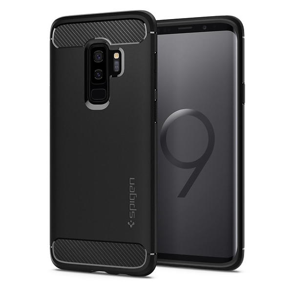 Spigen Rugged Armor for Samsung Galaxy S9 Plus