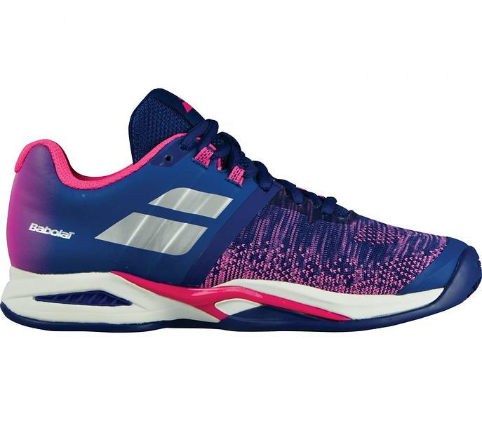 Eu Clay Chaussures Propulse Bleu Babolat De Tennis Blast 38 wF0CqCx1