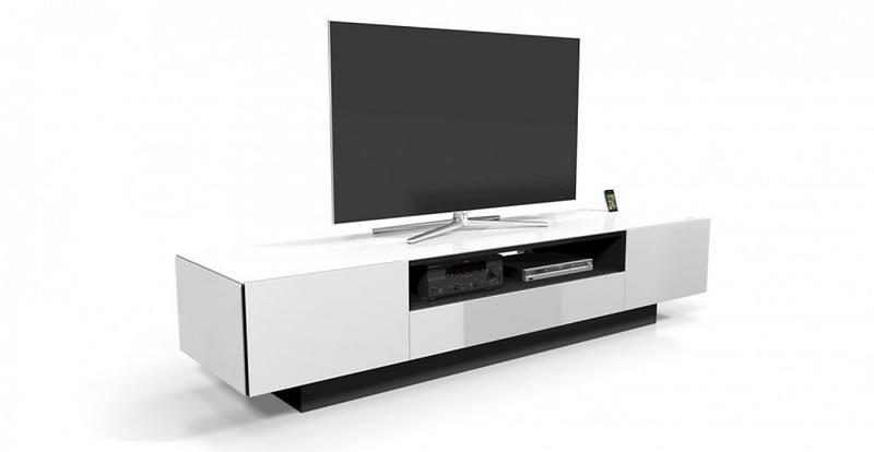 bilder av spectral brick br1202 tv benk 115x50cm hifi m bel. Black Bedroom Furniture Sets. Home Design Ideas