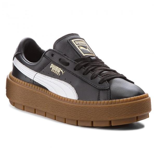 Storico dei prezzi di Puma Platform Trace Leather (Donna) Scarpe casual -  Trova il miglior prezzo cb9d7fb7869