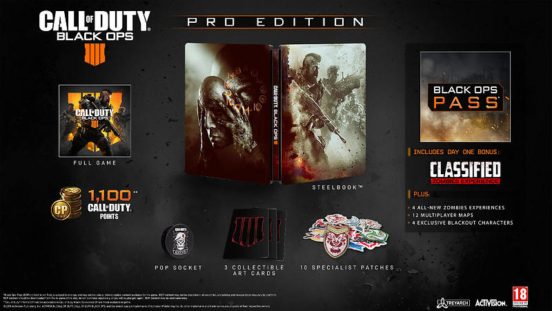 Call of Duty: Black Ops 4 - Pro Edition (PS4)