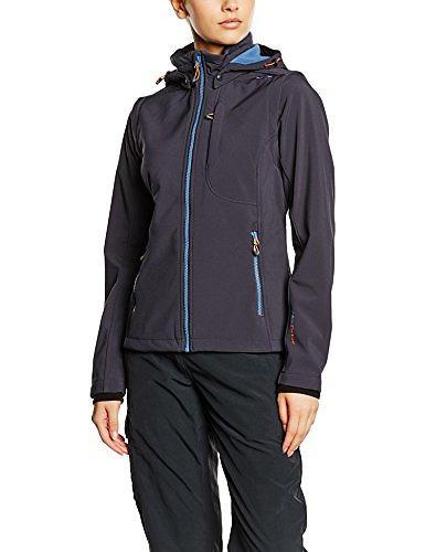 CMP Softshell Jacket Zip Hood 3A22226CF (Donna)