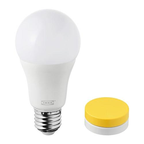 Bild på IKEA Trådfri Set LED1623G12 1000lm 2700K E27 12,5W (Dimbar) från Prisjakt.nu