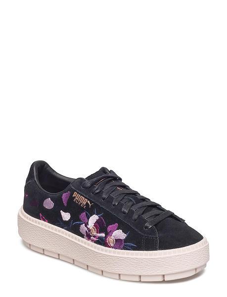 promo code a42ce 0a6e6 Puma Suede Platform Trace Flowery (Women's)