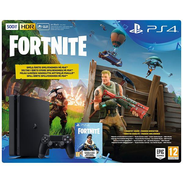 Sony Playstation 4 Slim 500gb Incl Fortnite