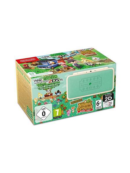 Nintendo New 2DS XL (+ Animal Crossing Edition Welcome amiibo)