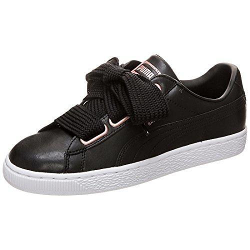 best loved ffc61 0986d Puma Basket Heart Leather (Women's)