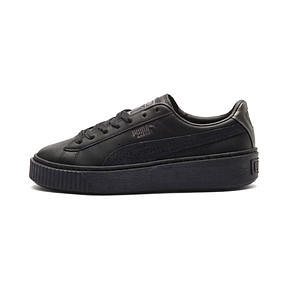 info for 0f0f9 91339 Puma Basket Platform Euphoria Metal (Women's)