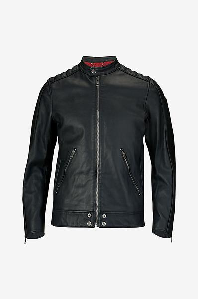 Diesel L-Quad Leather Jacket (Uomo)