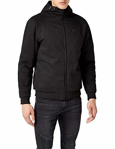 Urban Classics Hooded Cotton Zip Jacket (Uomo)