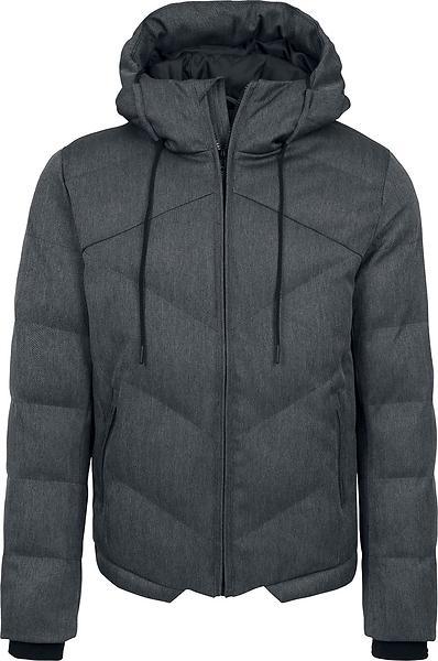 Urban Classics Heringbone Hooded Winter Jacket (Uomo)
