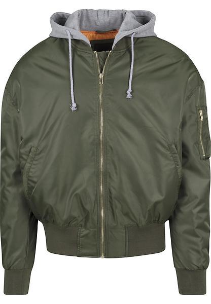 Urban Classics Hooded Oversized Bomber Jacket (Uomo)