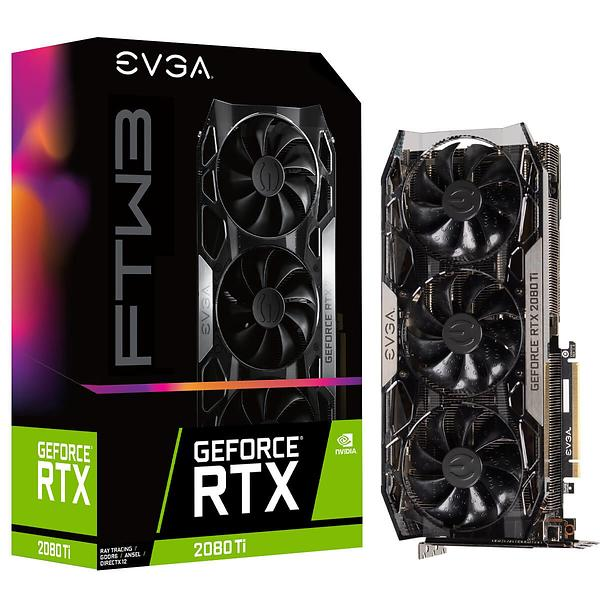 EVGA GeForce RTX 2080 Ti FTW3 HDMI 3xDP 11GB