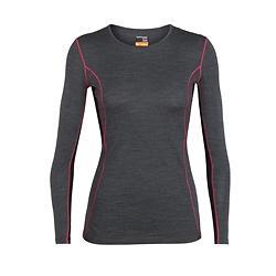 Icebreaker 200 Oasis Deluxe Crewe LS Shirt (Donna)