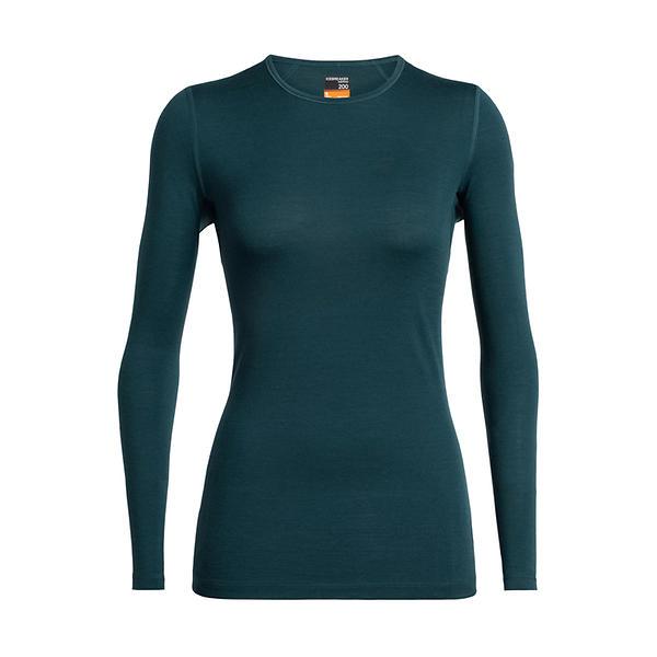 Icebreaker 200 Oasis Crewe LS Shirt (Donna)