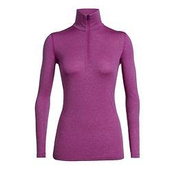 Icebreaker 200 Oasis LS Shirt Half Zip (Donna)
