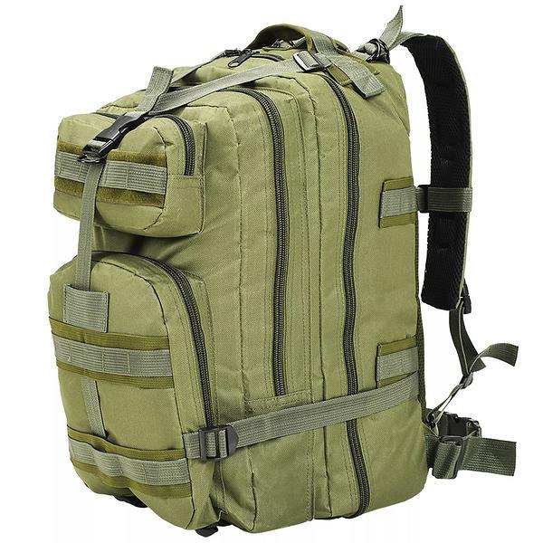 vidaXL Army-Style Backpack 50L
