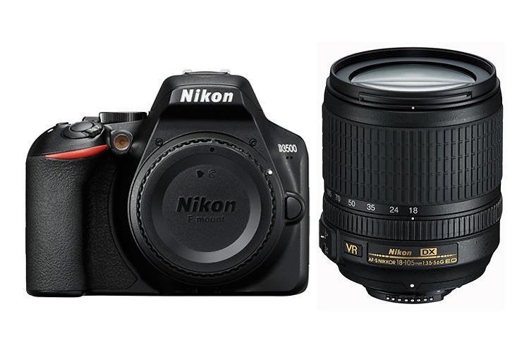 Nikon D3500 + AF-S DX 18-105/3,5-5,6 G ED VR