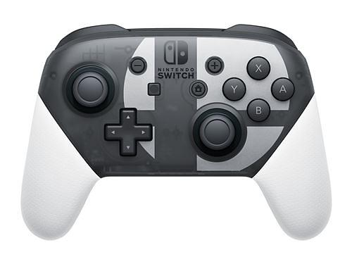 Nintendo Switch Pro Controller - Super Smash Bros Ultimate Edition (Switch)