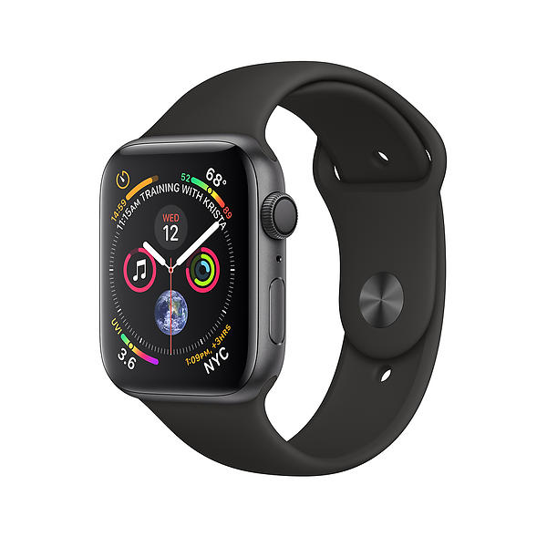 Bild på Apple Watch Series 4 44mm Aluminium with Sport Band från Prisjakt.nu