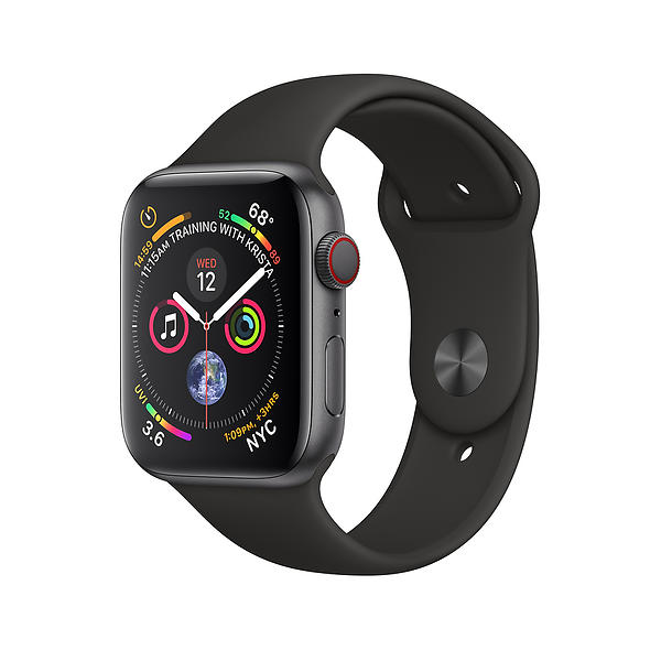 Bild på Apple Watch Series 4 4G 44mm Aluminium with Sport Band från Prisjakt.nu