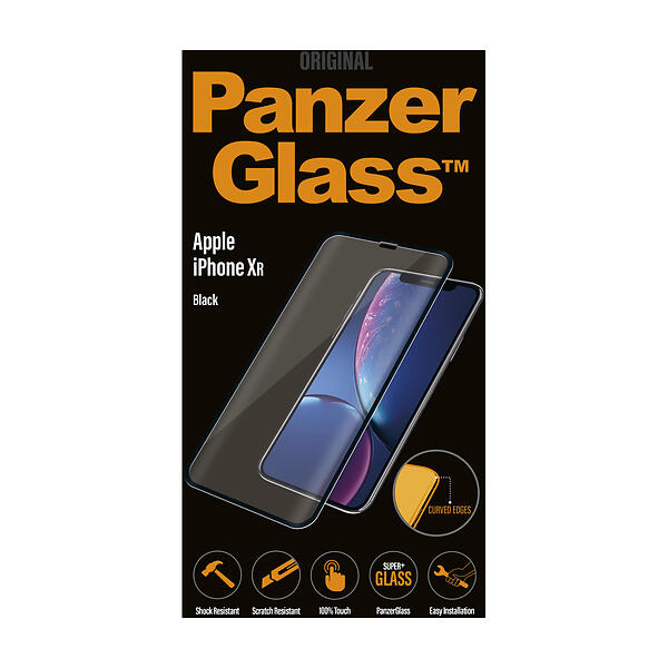 PanzerGlass Curved Edges Screen Protector for iPhone XR