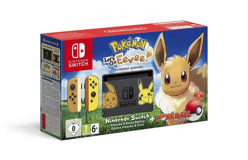 Nintendo Switch - Let's Go Eevee Bundle