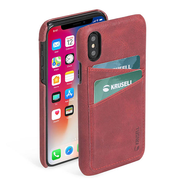 Krusell Sunne 2 Card Cover for iPhone XS Max