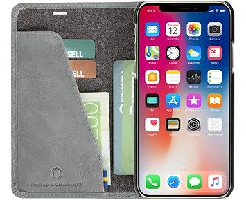 Krusell Sunne 4 Card FolioWallet for iPhone XS Max