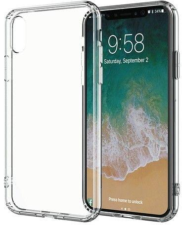 Puro Clear Cover for iPhone XS Max