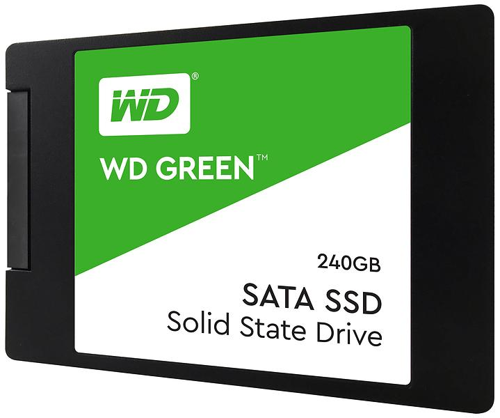 "WD Green PC SSD Rev.2 2.5"" SATA III 240GB"
