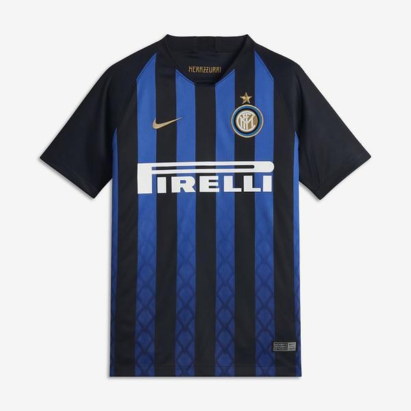 Nike Inter Milan maglia da calcio home Stadium 18/19 (Jr)