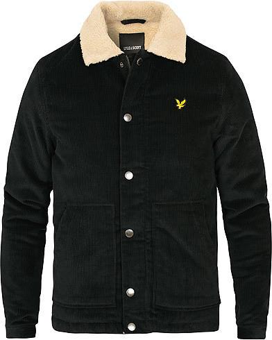Lyle & Scott Jumbo Corduroy Shearling Jacket (Men's)