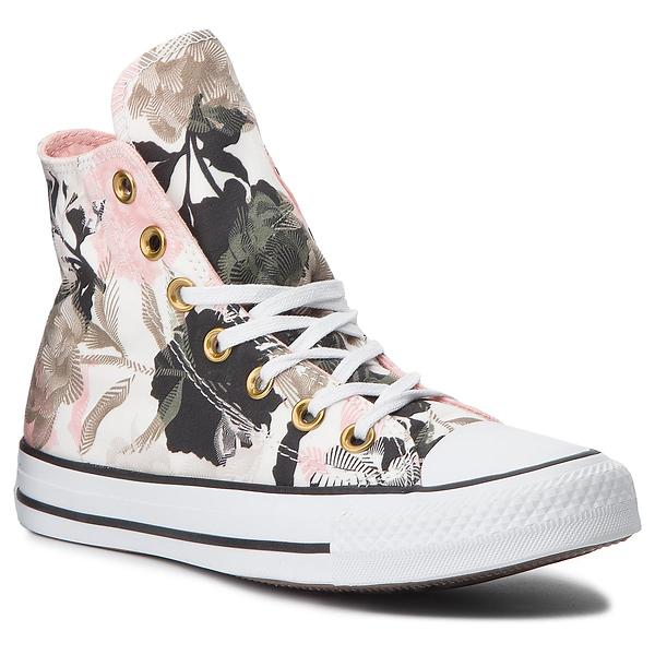 Converse Chuck Taylor All Star Linear Floral Hi (Donna)