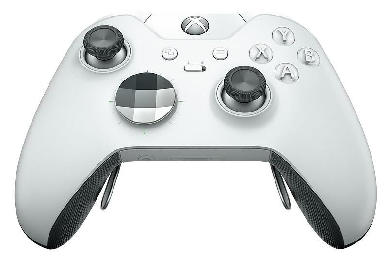 Microsoft Xbox One Elite Wireless Controller - White (Xbox One)