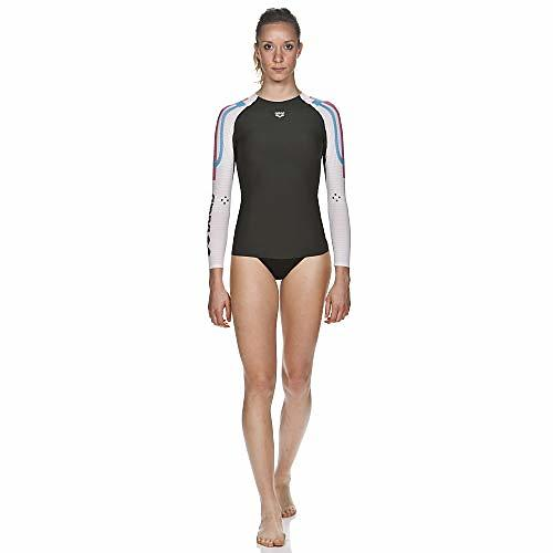 Arena Carbon Compression LS Shirt (Donna)
