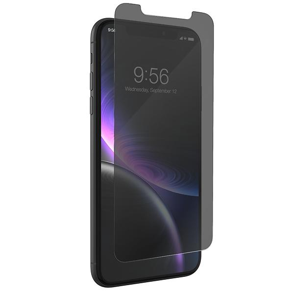 Zagg InvisibleSHIELD Glass+ Privacy for iPhone XR