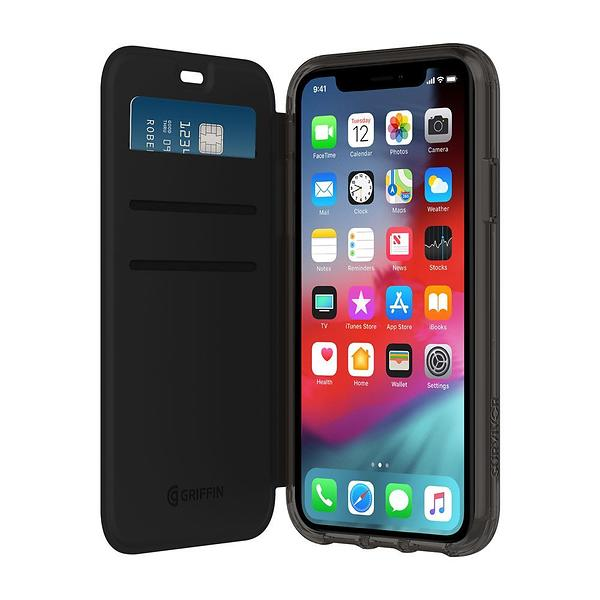 Griffin Survivor Clear Wallet for iPhone XR