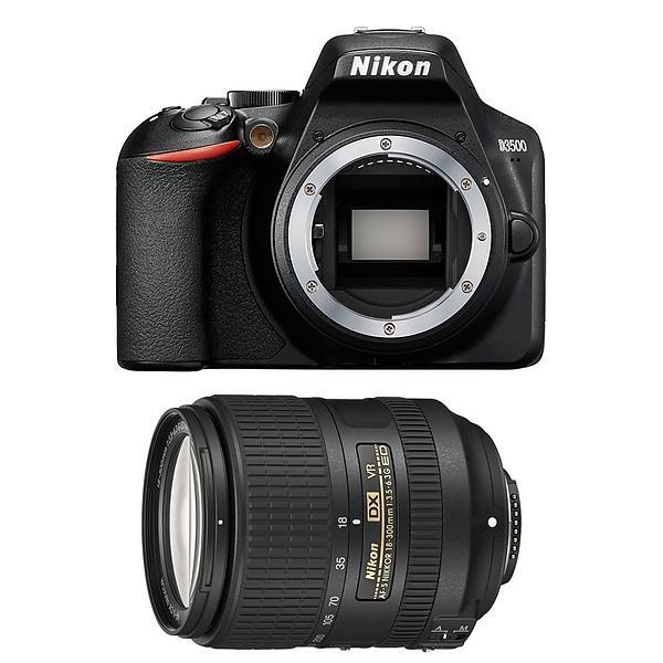 Nikon D3500 + 18-300/3,5-6,3 VR