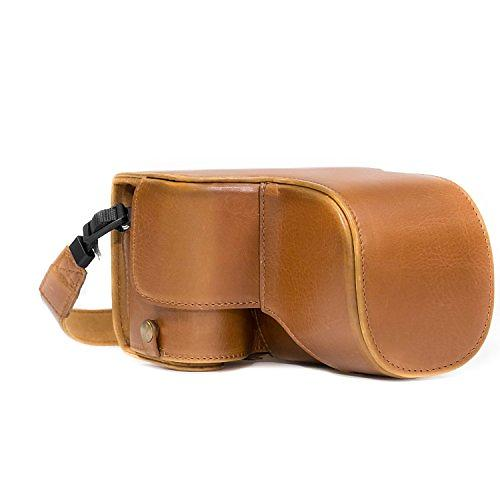 MegaGear Ever Ready Leather Camera Case for Sony Alpha A6500