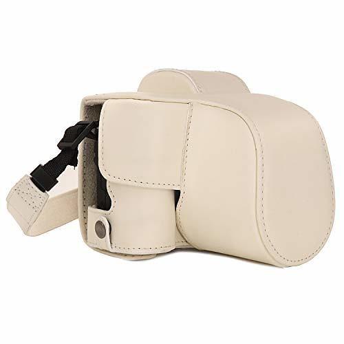 MegaGear Ever Ready Leather Camera Case for Canon EOS M50