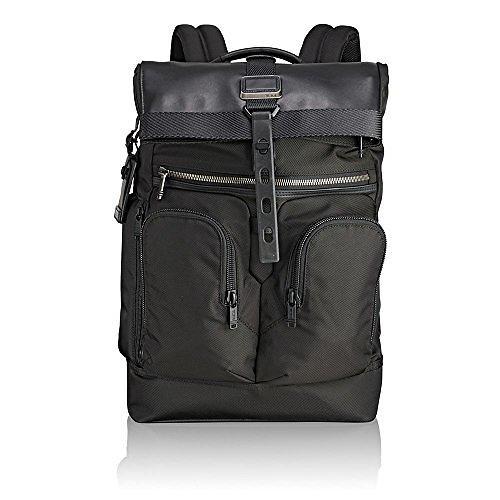 Tumi Alpha Bravo London Roll-Top Backpack