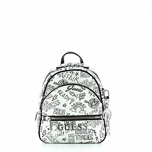 Guess Manhattan Logo Pattern Backpack (HWGF6994310) (Donna)